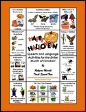 The Halloween Book for Concepts, Language, and Articulation