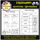 Halloween Activities - Worksheets - Writing prompt & paper (School Designhcf)
