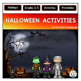 Halloween Activities: Symbols of Halloween & History of Halloween Flip Book