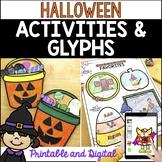 Halloween Activities and Glyphs: Halloween Crafts, Halloween Writing