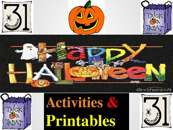 Halloween Activities and Printables