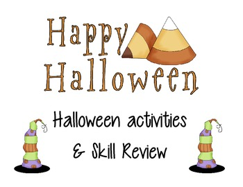 Halloween Activities and Skill Review