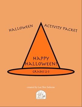Halloween Activities for 2-3 Grades