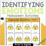 Halloween Activities   Analyzing Character Feelings   Digi