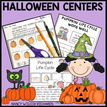 Fall and Halloween Activities for Centers