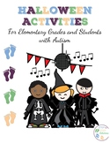 Halloween Activities for Elementary Grades and Students with Autism