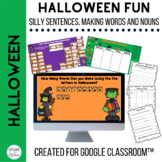 Halloween Activities for Google Classroom™ Making Words  N