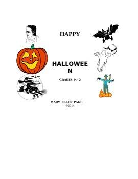 Halloween Activities for K-2