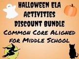 Halloween Activities for Middle School Discount Bundle! Co