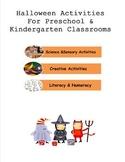 Halloween Activities for Preschool and Kindergarten Classrooms