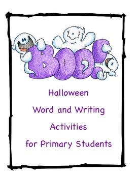 Halloween Activities for Primary Students