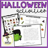 Halloween Speech Therapy - Halloween Inference - Halloween Articulation
