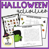 Halloween Activities for Speech and Language