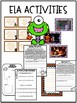Halloween Activities for Writing, Math, and Reading! CC Aligned!