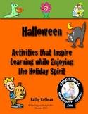Halloween Activities that Inspire Learning while using Multiple Intelligences