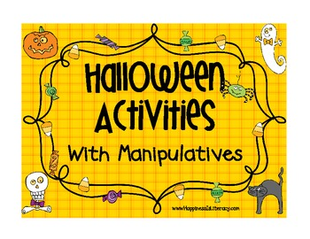 Halloween: Activities with Manipulatives