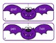 Halloween Activity - Batty Rhymes