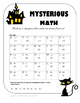 Grade 3-5 Halloween Activity Book