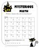 Grade 3-5 Halloween Activity Book
