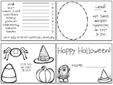 Halloween Activity Book - Foldable