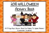 Halloween Activity Book For Middle To Upper Primary/Elemen