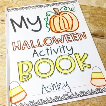 Halloween Activity Book (Freebie)
