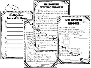 Halloween Activity Book - Halloween Diplomas - Dollar Deal! #Halloween2017
