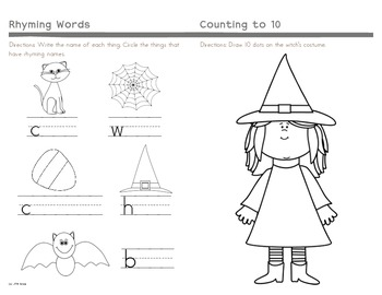 Halloween Activity Booklet