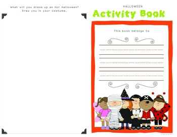 Halloween Activity Booklet (1st / 2nd)