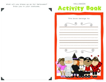 Halloween Activity Booklet (2nd / 3rd)