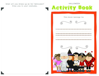 Halloween Activity Booklet (4th / 5th)