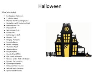 Halloween Activity Booklet