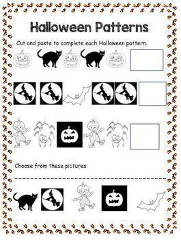 Halloween Activity Booklet (NO PREP)