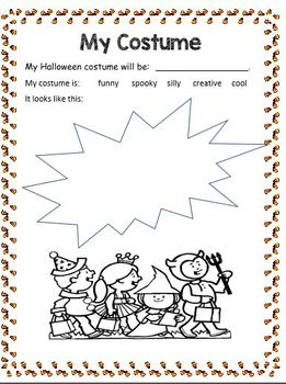 Halloween Activity Booklet (NO PREP)