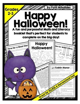 Halloween Activity Booklet/Pages