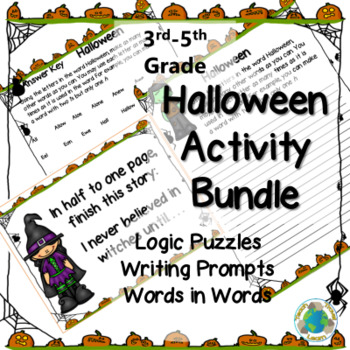 Halloween Activity Bundle
