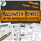 Halloween Activities - Writing, Poetry & Grammar Bundle