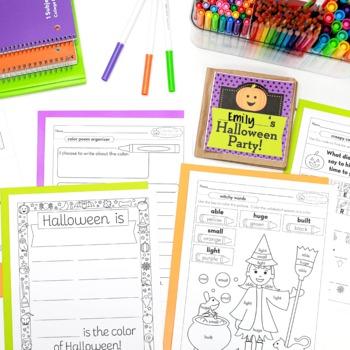 Halloween Math and ELA Activities for Grades 1-4