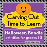 Halloween Activities Bundle for Grades 1-3