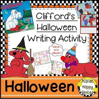 Halloween Activity ~ Clifford's Halloween Writing Activity