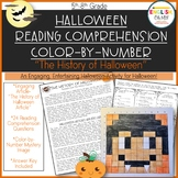 Halloween Activity-Color by Number, The History of Halloween