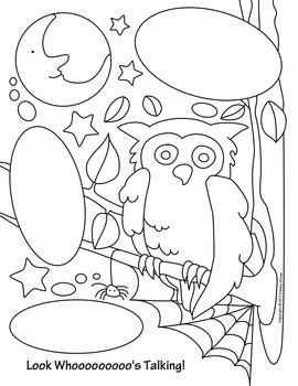 Halloween Activity Coloring Pages