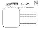 Halloween Activity - Costume Tall Tale