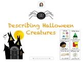 Halloween Activity-Describing Halloween Creatures