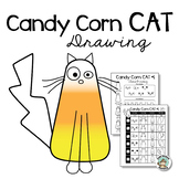 Halloween Activity: Drawing Candy Corn Cats