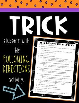Halloween Activity -  Figurative Language & Reading Comprehension