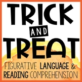 Free Halloween Activity -  Figurative Language & Reading Comprehension
