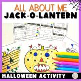 Halloween Activity Jack-o-lantern Bioglyphs