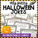 Halloween Activity Joke Cards