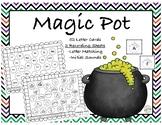 Halloween Activity: Magic Pot-Sensory Center Recording Sheet